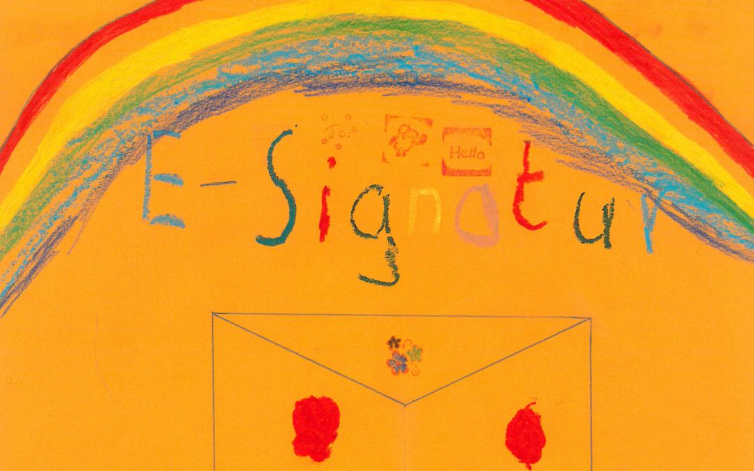 Digital unterschreiben – Papier war Gestern